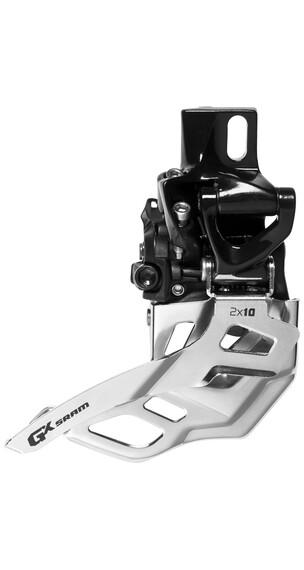 SRAM GX Umwerfer 2x10-fach High Direct Mount Bottom Pull 38/36 Zähne schwarz